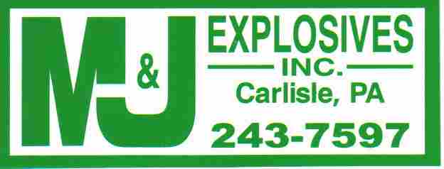 M J Explosives Inc Is A Family Owned And Operated Drilling Blasting Company Serving Pennsylvania Maryland Northern West Virginia